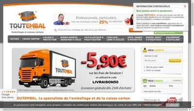 Site internet de Toutembal