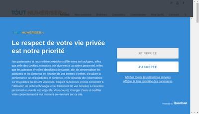 Site internet de Toutnumeriser