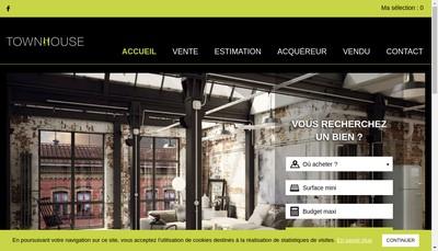 Site internet de Town House