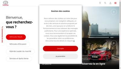 Site internet de Espace Automobile Charentais