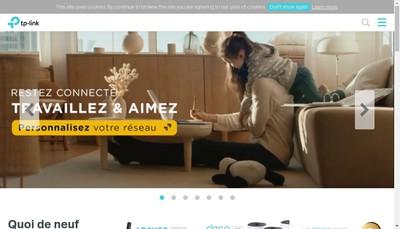 Site internet de Tp Link France SARL