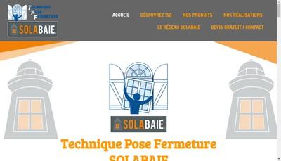 Site internet de TPF Tecnique Pose Fermeture