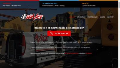 Site internet de Tp Service