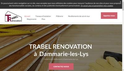 Site internet de Trabel Renovation
