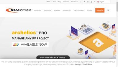 Site internet de Trace Software International