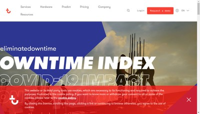 Site internet de Trackunit