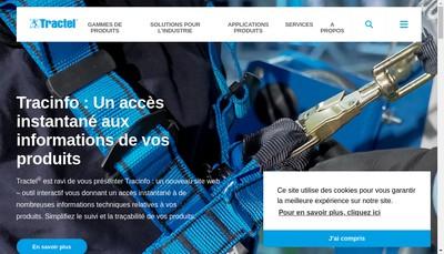 Site internet de Tractel Location Service