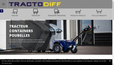 Site internet de Tractodiff