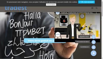 Site internet de Trad'Est