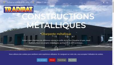Site internet de Tradibat