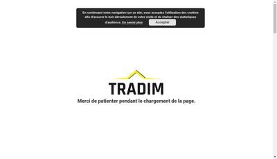 Site internet de Tradim