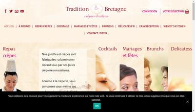 Site internet de Tradition Bretagne