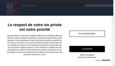 Site internet de SARL Clausel Traiteur