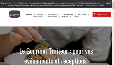 Site internet de Le Gourmet
