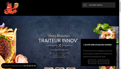 Site internet de SARL Pedron