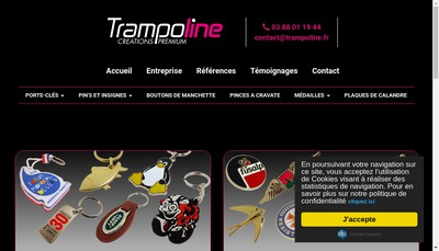 Site internet de Jeton-Line Metalcom Plaque-Prod Pin'S Prod Porte-Cle-Prod Medailleprod Insigne-Prod