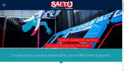 Site internet de Salto Trampoline Arena
