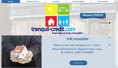 Site internet de Tranquil-Credit Com