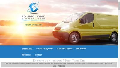 Site internet de Trans One