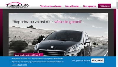 Site internet de Transak Auto