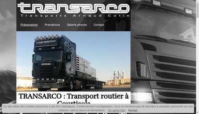Site internet de Transarco