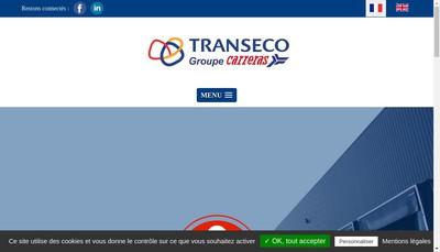 Site internet de L'Alliance de Solutions Logistiques