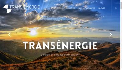Site internet de Transenergie SA