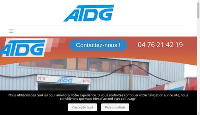 Site internet de SARL Atdg
