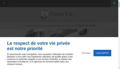 Site internet de Trans Fl