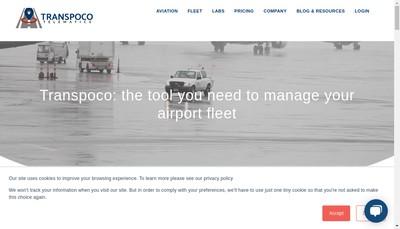Site internet de Transpoco France