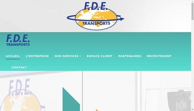 Site internet de FDE