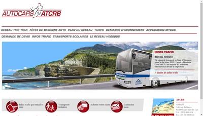 Site internet de Transdev Sud Ouest