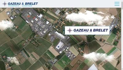 Site internet de SARL Transport Gazeau