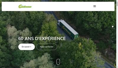 Site internet de Transports Grimaud