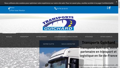 Site internet de Societe d'Exploitation Transports Guichard