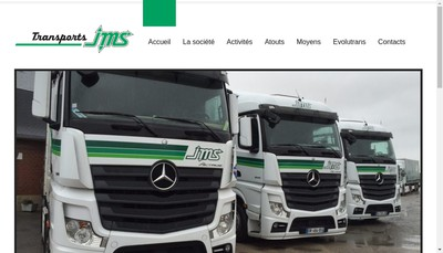Site internet de Transports Jms