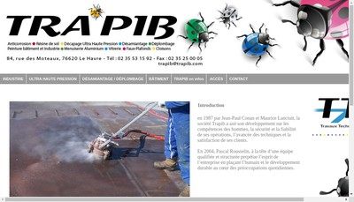 Site internet de Trapib