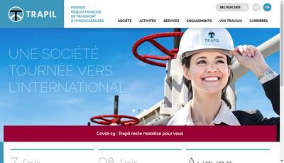 Site internet de Societe Transports Petroliers par Pipeline