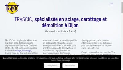Site internet de Trascic