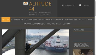 Site internet de Altitude 44