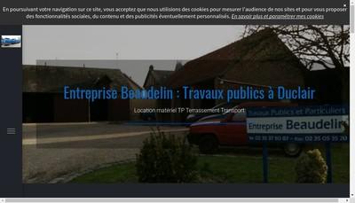 Site internet de Entreprise Beaudelin SARL