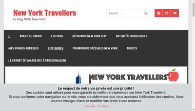 Site internet de Travel Lovers