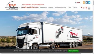Site internet de Aubry Logistique