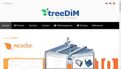 Site internet de Treedim