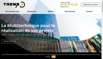 Site internet de Deoust Electricite