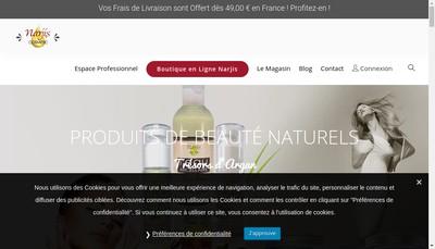 Site internet de La Boite aux Tresors
