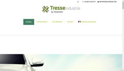 Site internet de Tresse Industrie