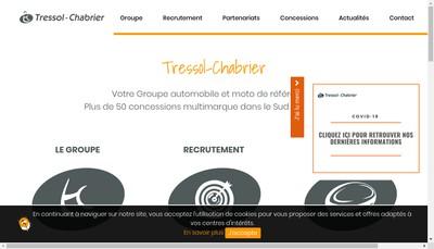 Site internet de Societe Nouvelle d'Exploitation Champ de Mars Automobiles
