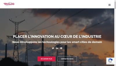Site internet de Trialog