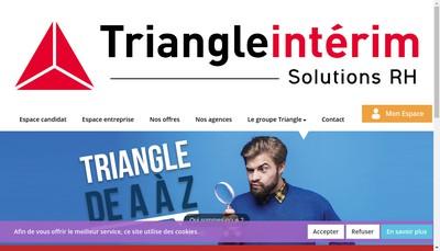 Site internet de Triangle Interim Solutions Rh